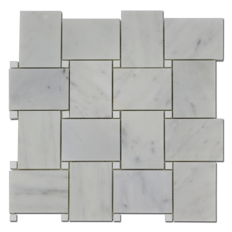 Tarmak-Usa-Mosaics-Collection-Alpine-LargeBasket-Carrara-w-Dolomite