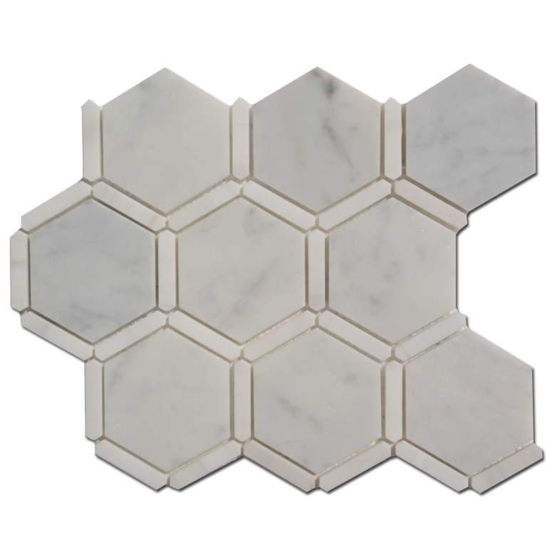 Tarmak-Usa-Stone-Collection-Sanibel-3-Honeycomb-Carrara-Dolomite