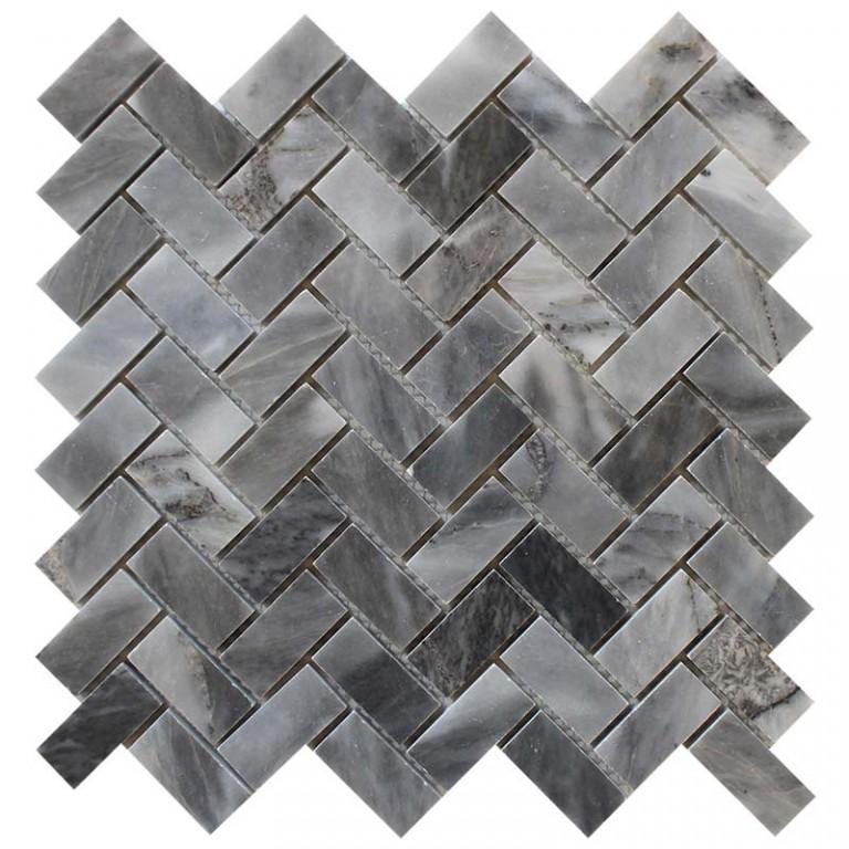 Tarmak-Usa-Stone-Mosaics-Bardiglio-1x2-Herringbone