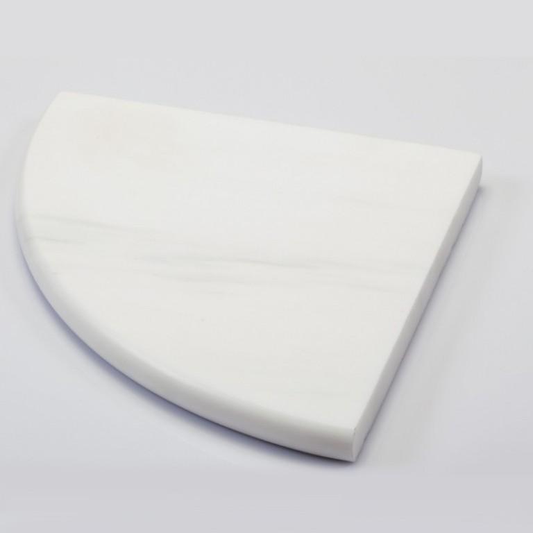 Tarmak-Usa-Stone-Corner-Shelf-Bianco-Venato