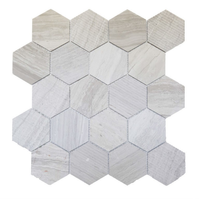 Tarmak-Usa-Stone-Collection-Bilbao-Wooden-White-3-Hex-Honeycomb
