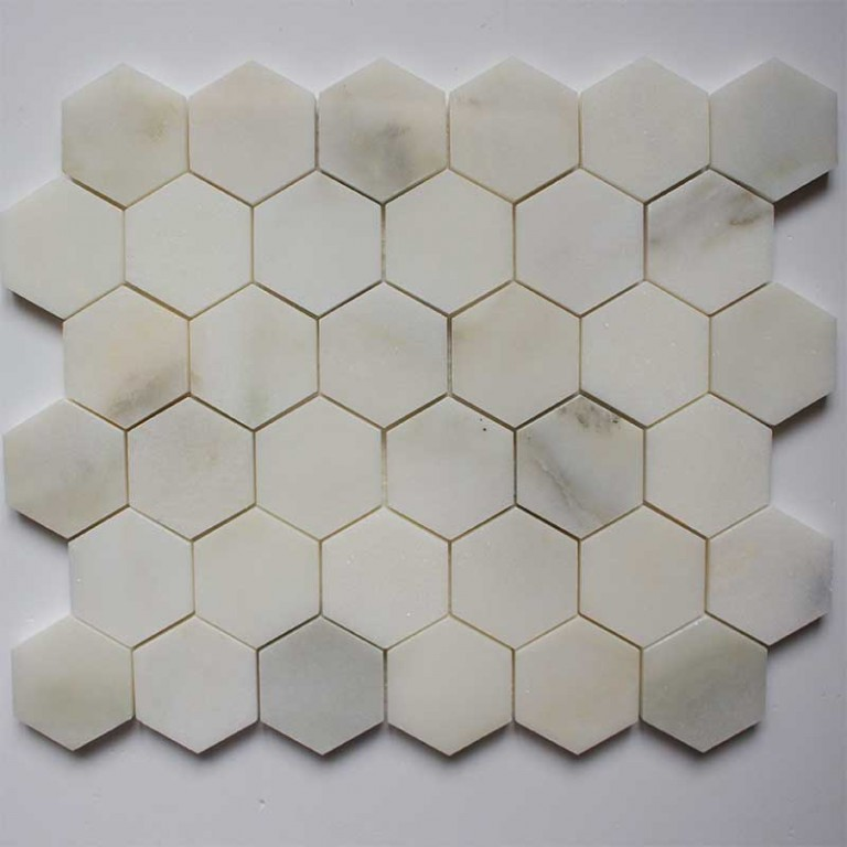 Tarmak-Usa-Stone-Mosaics-Calacatta-Honeycomb-Hex-Polished-2x2