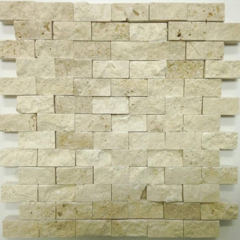 Tarmak-Usa-Stone-Mosaics-Splitface-Beige-1x2-Splitface
