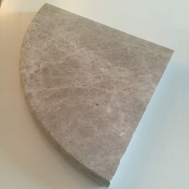 Tarmak-Usa-Stone-Corner-Shelf-Silver-Shadow