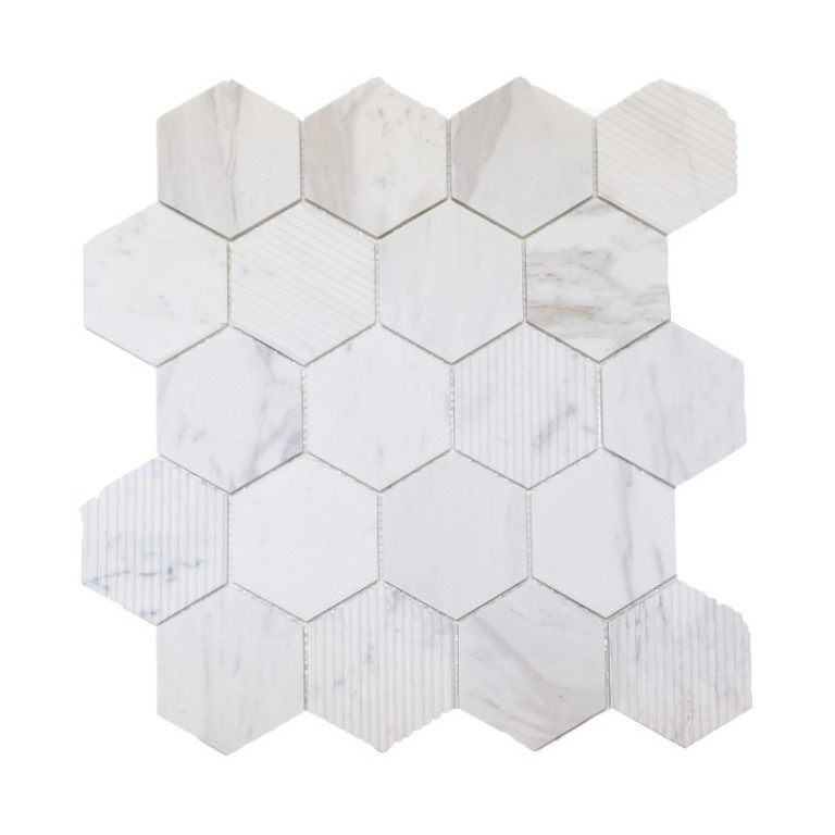 Tarmak-Usa-Stone-Collection-Bilbao-Bianco-Venato-3-Hex-Honeycomb