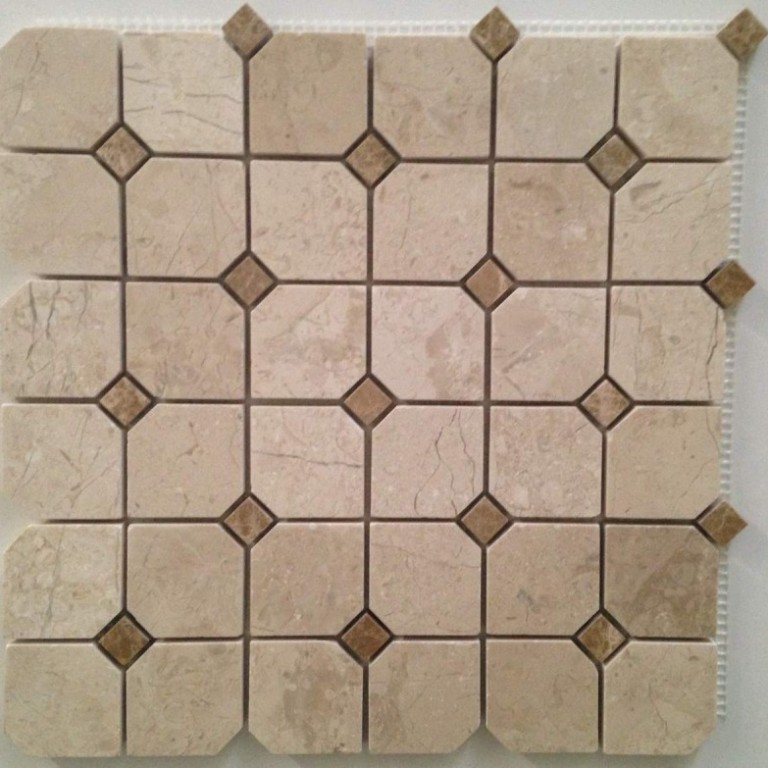 Tarmak-Usa-Stone-Mosaics-C.-Nouva-Hex-With-Emperador-Dot