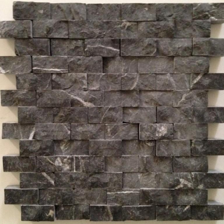 Tarmak-Usa-Stone-Mosaics-Splitface-Taurus-Black-1x2-Splitface