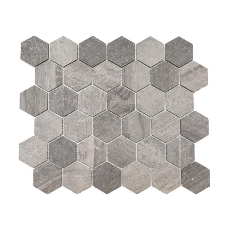 Tarmak-Usa-Stone-Mosaics-Blue-Savoy-2x2-Honeycomb-Hex